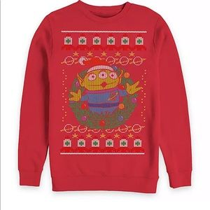 Toy Story Alien Holiday Pullover Sweatshirt‼️